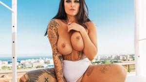 Slutty Skyline - Summer Time Beach Babe Sex Raquel Adan BaDoinkVR vr porn video vrporn.com