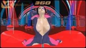 SFV Juri Han in 360° HotVR vr porn video vrporn.com virtual reality