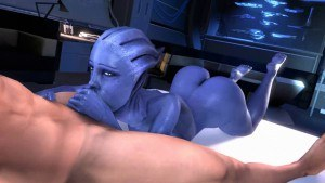 Liara Is Just Following Orders DarkDreams Commander Shepard vr porn video vrporn.com virtual reality