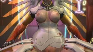 Overwatch Sex & Dance - Mercy FantasySFM CGIgirl vr porn video vrporn.com virtual reality
