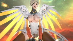 Mercy Shows You A Good Time In The Sky DarkDreams Mercy vr porn video vrporn.com virtual reality