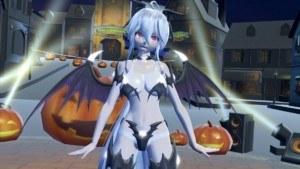 Sex & Dance - Vocaloid - Happy Halloween CGI Girl Lewd FRAGGY vr porn video vrporn.com virtual reality