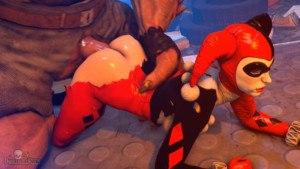 Harley's Crime Spree CGI Girl DarkDreams vr porn video vrporn.com virtual reality