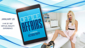 Office Affairs - Drilling Tight Blonde Euro Babe VR