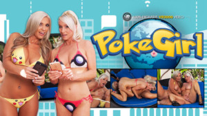 PokeGirl Go - Savannah and Tasty Tiffany Lesbian Porn VR VR3000 Savannah Lace Tasty Tiffany vr porn video vrporn.com