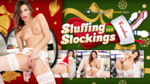Stuffing Her Stockings VR3000 Rosaline Rosa vr porn video vrporn.com virtual reality