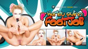 Harley Quinn Footjob VR3000 Cherry Kiss vr porn video vrporn.com virtual reality