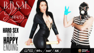 BDSM Lovers Hard Sex With A Happy Ending VirtualPorn360 Pamela Sanchez vr porn video vrporn.com virtual reality