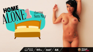 Home Alone 1 VirtualPorn360 Sara May vr porn video vrporn.com virtual reality