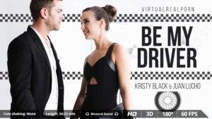 Be My Driver VirtualRealPorn KristyBlack JuanLucho vr porn video vrporn.com virtual reality