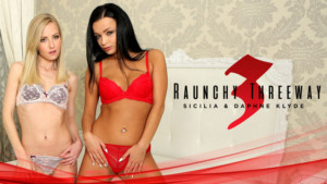 Raunchy Threeway RealityLovers Daphne Klyde Sicilia vr porn video vrporn.com virtual reality