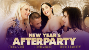 New Year's Afterparty RealityLovers RebeccaRainbow CaciliaScott LorenMinardi vr porn video vrporn.com virtual reality