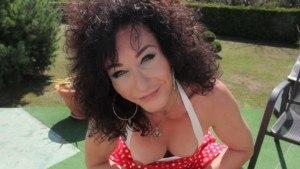 [Shemale] Boner In The Garden TSVirtualLovers Celine David vr porn video vrporn.com virtual reality