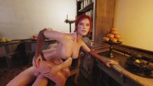Good Times at Corvo Bianco by Niodreth - Angle 2 SubVRSteve cgi girl vr porn video vrporn.com virtual reality