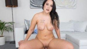 Great Boobs in Casting CzechVR Casting Jennifer Mendez vr porn video vrporn.com virtual reality