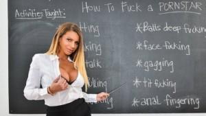 VR Porn Short Reviews: Brooklyn Chase Teaches You How to Fuck a Pornstar naughtyamericavr vr porn blog virtual reality