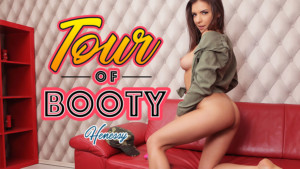 Tour Of Booty - Girlfriend Records VR Webcam Show for You BadoinkVR Henessy vr porn video vrporn.com