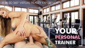 Your Personal Trainer vrbangers Nicole-Aniston vr porn video vrporn.com virtual reality