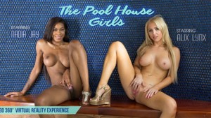 The Pool House Girls - Skinny Dipping Leads to Sex VRBangers Nadia Jay Alix Lynx vr porn video vrporn.com virtual reality