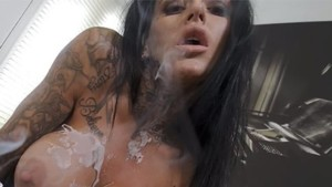 Wax My Bitch Up! StripzVR Stacey Lacey vr porn video vrporn.com virtual reality