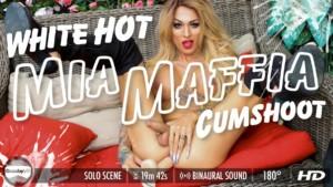 Mia Maffia in White Hot Cumshoot GroobyVR Mia Maffia vr porn video vrporn.com virtual reality