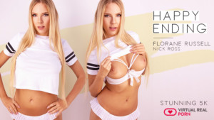 Happy Ending VirtualRealPorn Florane Russell vr porn video vrporn.com virtual reality