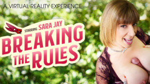 Breaking The Rules VR Bangers Sara Jay vr porn video vrporn.com virtual reality