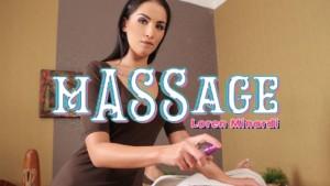mASSage - Special VR Massage with Anal Happy Ending BadoinkVR Loren Minardi vr porn video vrporn.com