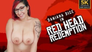 Red Head Redemption VRLatina Dahiana Dice vr porn video vrporn.com virtual reality