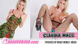 145 Claudia Macc BravoModels vr porn video vrporn.com virtual reality