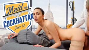 Maid On Cockhattan VRConk Ashely Ocean vr porn video vrporn.com virtual reality
