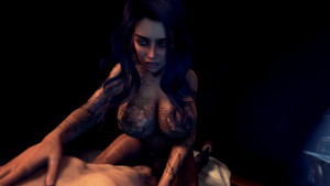 Original Character - Inspecting Cassidy's Tattoos DarkDreams vr porn video vrporn.com virtual reality