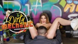 The Dirty Mechanic VRPFilms Rhiannon Ryder vr porn video vrporn.com virtual reality