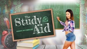 The Study Aid VRPFilms Ally Breelsen vr porn video vrporn.com virtual reality