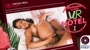 Welcome tTo The VR Hotel I VirtualRealPorn Nia Nacci vr porn video vrporn.com virtual reality