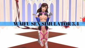 Waifu Sex Simulator VR 3.4 Lewd FRAGGY vr porn game vrporn.com virtual reality