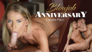 Blowjob Anniversary POV RealityLovers Claudia Mac vr porn video vrporn.com virtual reality