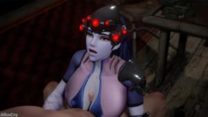 Widowmaker titfuck (Overwatch) AliceCry vr porn video vrporn.com virtual reality