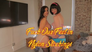 Fuck Our Feet In Nylon Stockings FFStockings Julia Tindra Frost vr porn video vrporn.com virtual reality