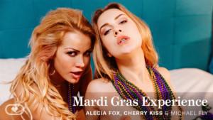 Mardi Gras Experience VirtualRealPorn Alecia Fox Cherry Kiss vr porn video vrporn.com virtual reality