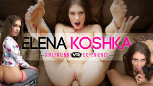 Elena Koshka GFE WankzVR Elena Koshka vr porn video vrporn.com virtual reality