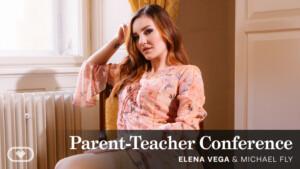 Parent-Teacher Conference VirtualRealPorn Elena Vega vr porn video vrporn.com virtual reality